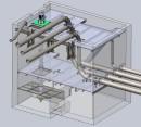 Část 3D projektu potrubní trasy