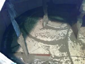 Eucorem vyložená míchačka na beton