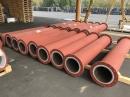 Abrasion resistant and chemically resistant basalt pipe 1