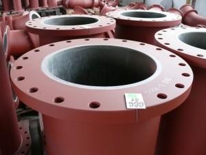 Pevné příruby potrubních dílů