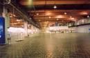 Čedičová podlaha v průmyslové hale